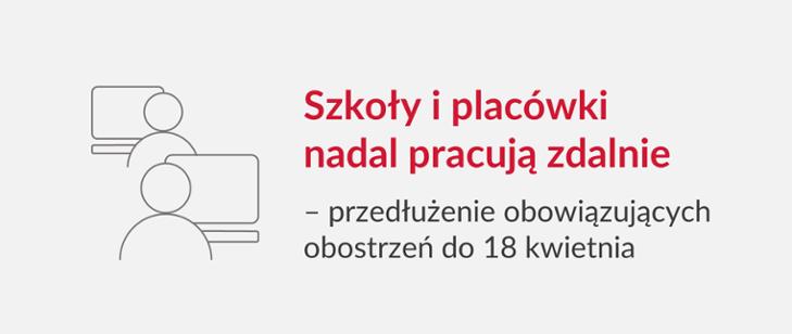 https://www.gov.pl/web/edukacja-i-nauka/szkoly-i-placowki-nadal-pracuja-zdalnie--przedluzenie-obowiazujacych-obostrzen-do-18-kwietnia